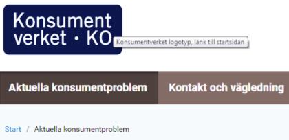 Logotyp Konsumentverket