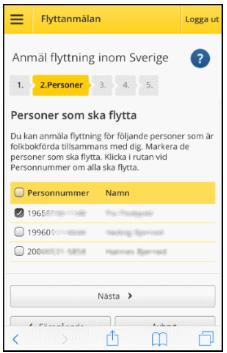 Flyttar till Sverige